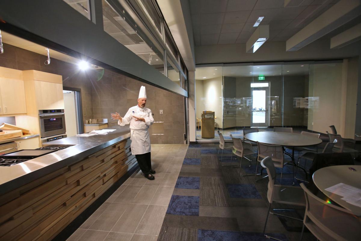 MATC demonstration kitchen