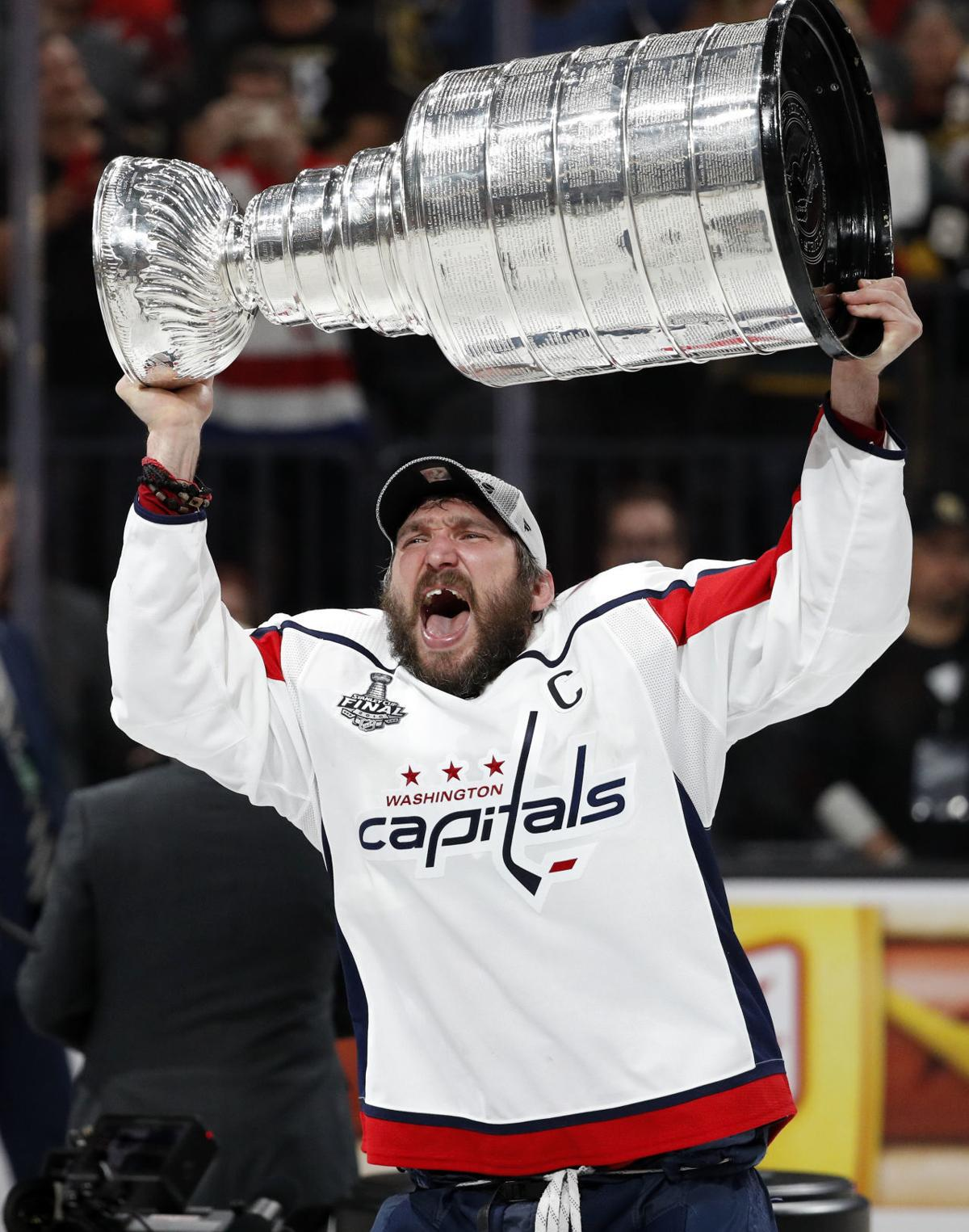 cup cover photo. Capitals left wing Alex Ovechkin hoists the Stanley ... 3a1f95ac7a90