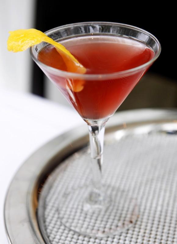 Shrub cocktail, Ruben Mendez