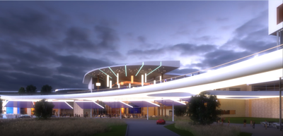 Ho-Chunk cultural, entertainment campus rendering