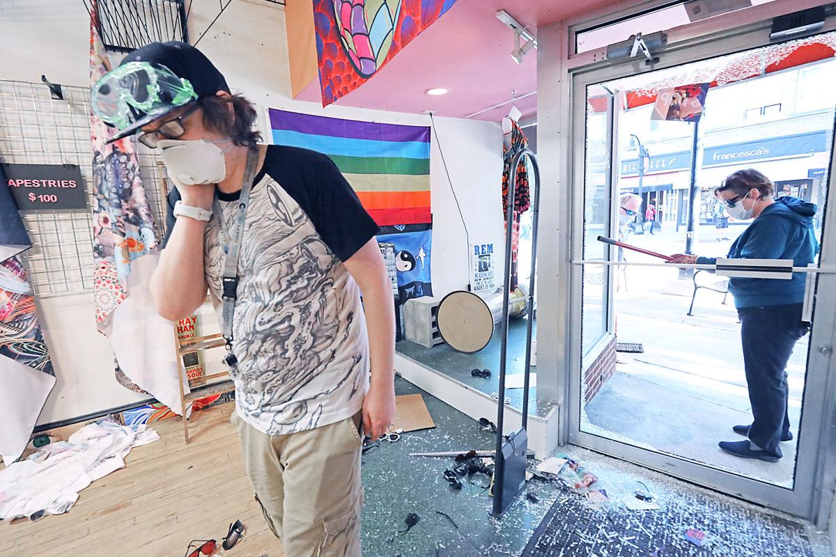 Madison cleans up after riot Downtown
