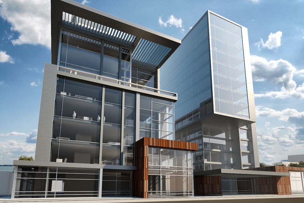 Rendering of Cosmos project