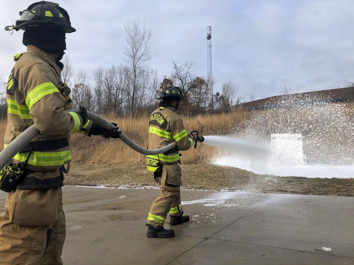 Madison Fire foam