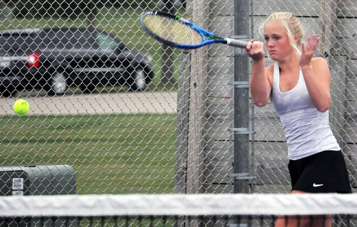 Prep girls tennis photo: Waunakee's Sara Sowinski