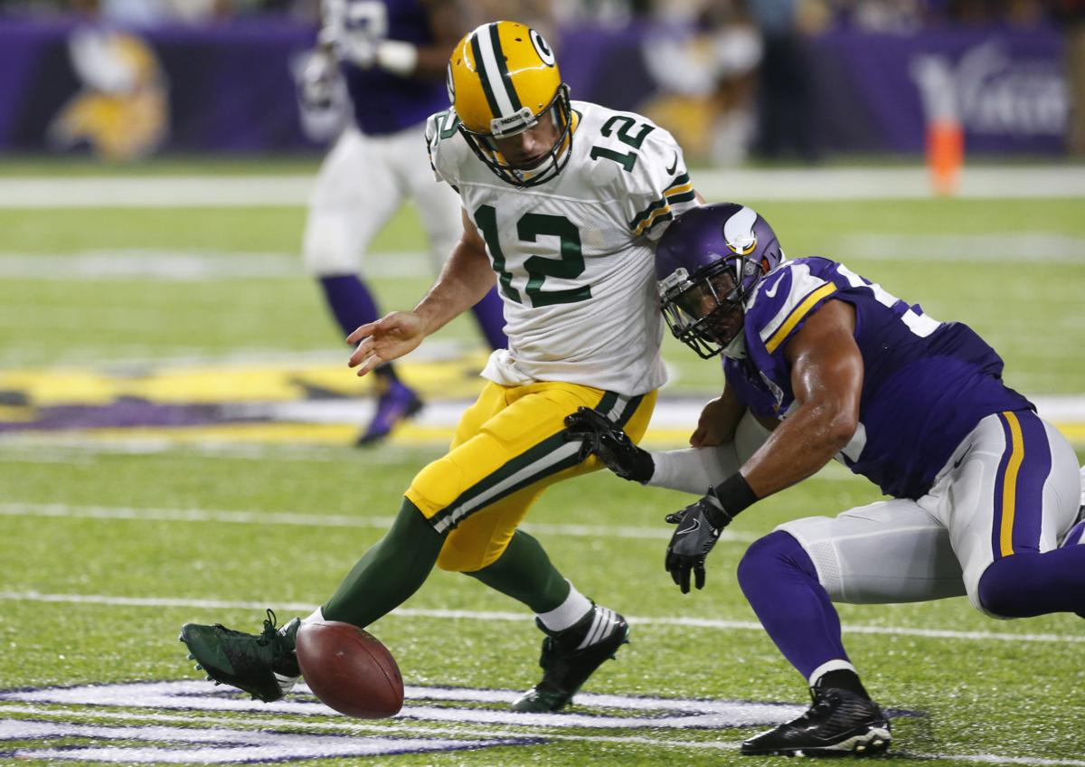 f9006319 Packers: Turnovers, Vikings squelch comeback as Sam Bradford ...