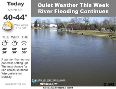Many roads still closed by flooding in Wisconsin, dry week should help