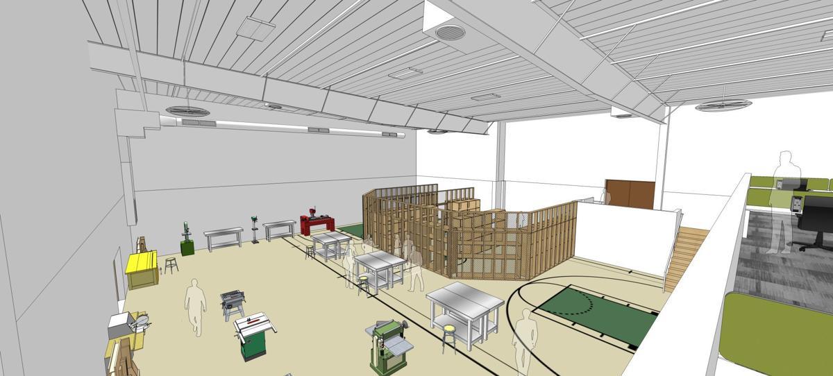 Construction Training - Mezzanine