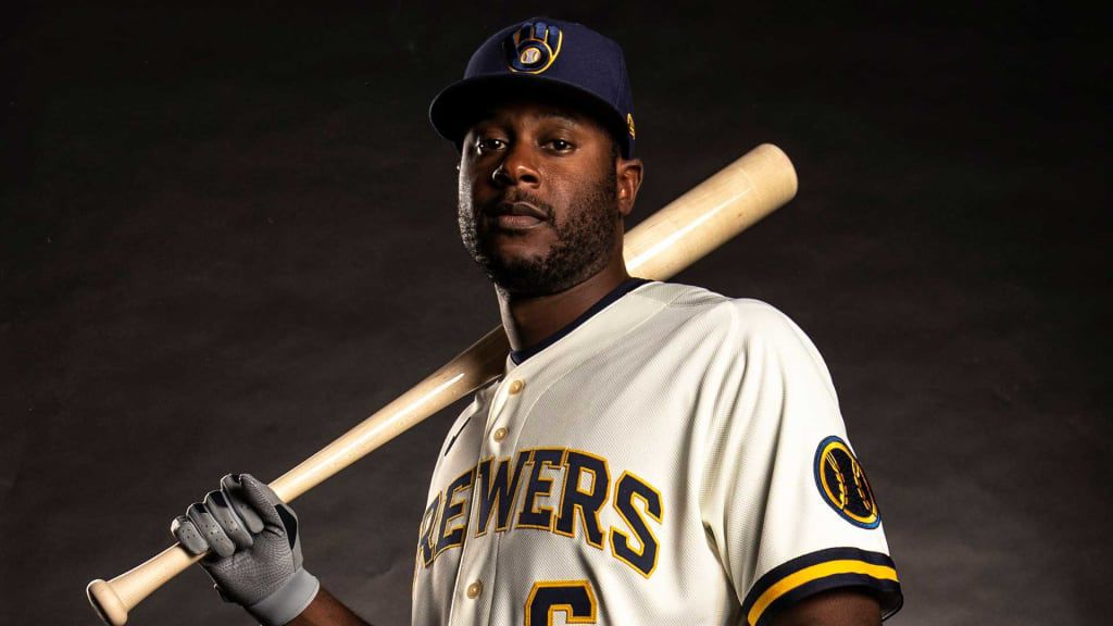 Lorenzo Cain - Brewers uniforms