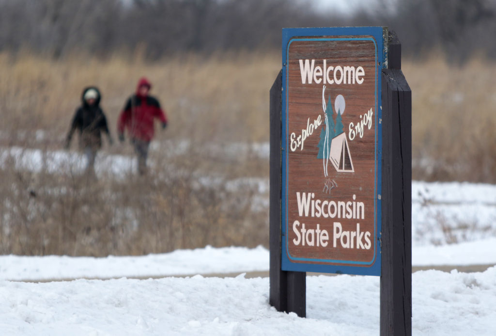 state park hikers