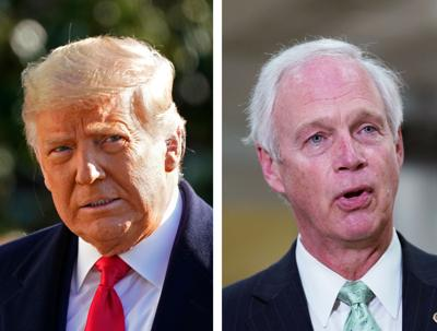 Donald Trump Ron Johnson mashup