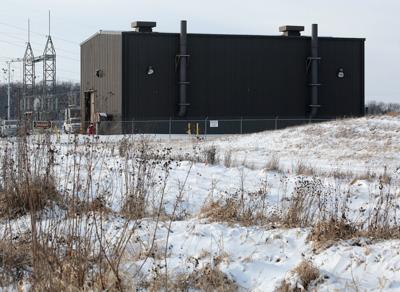Enbridge oil pumping station