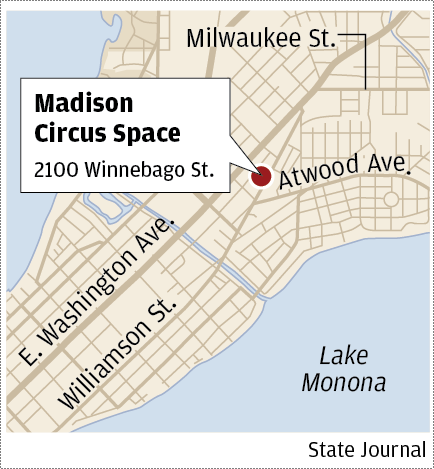 Madison Circus Space map