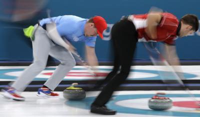 Matt Hamilton - Pyeongchang Olympics Curling