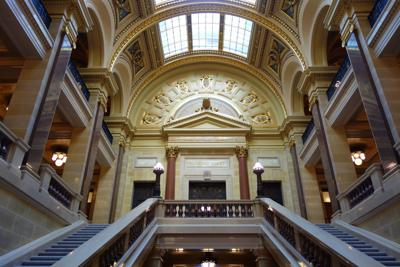 Wisconsin Supreme Court entrance in Capitol Building (copy)