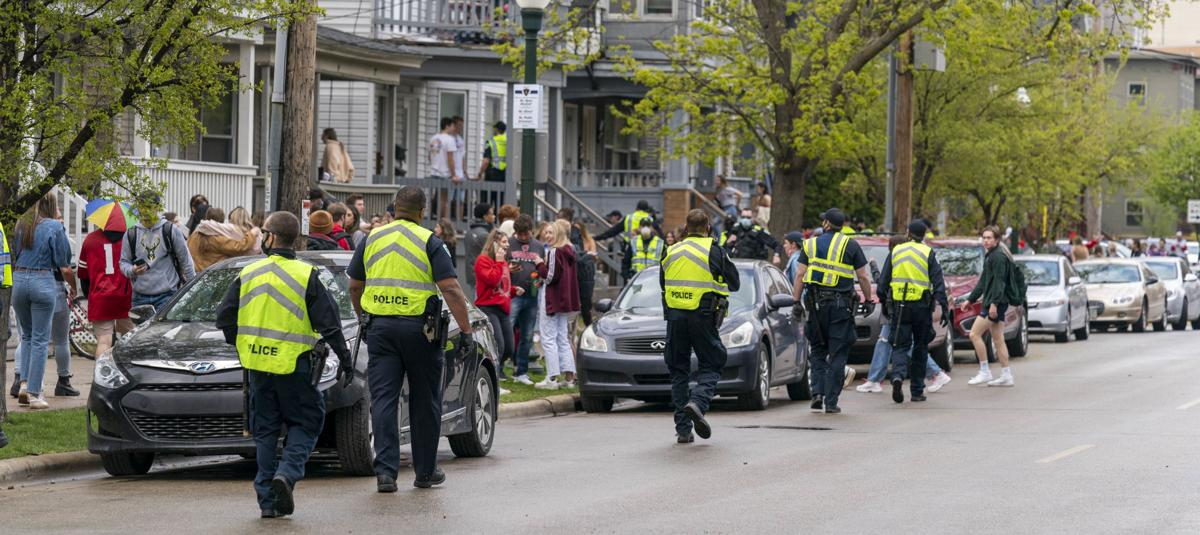 Patrolling Miffling Street Block Party