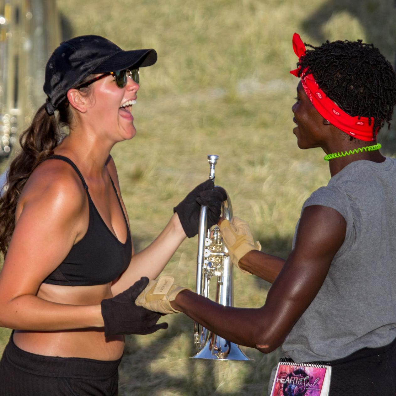 Madison Scouts celebrate 80th year — and first female musician