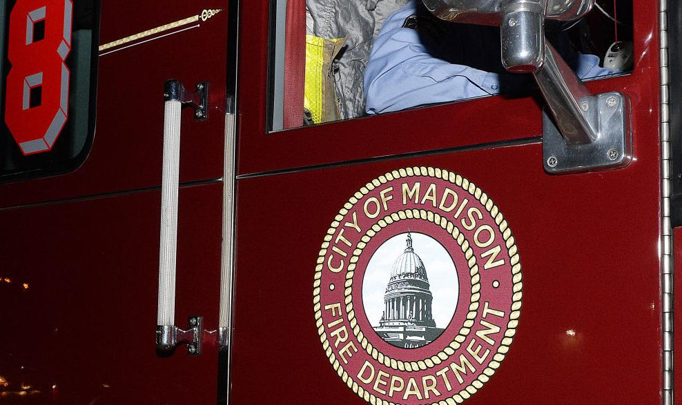 Madison Fire Department truck