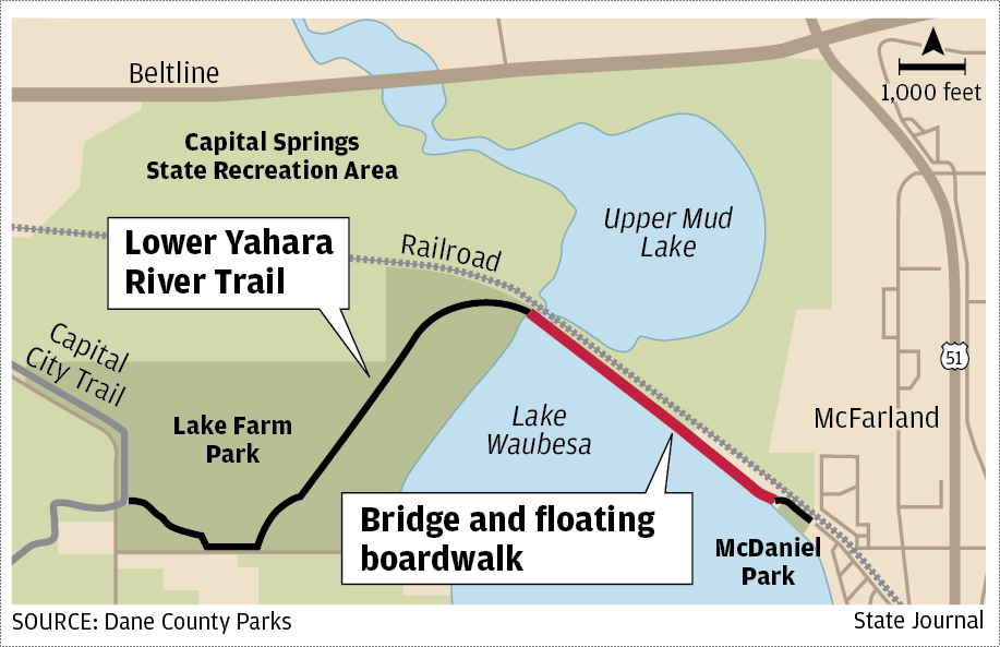 Stunning\' Lower Yahara River Trail opens Sunday after years ...