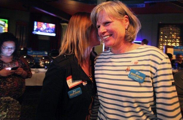 Mary Burke on election night