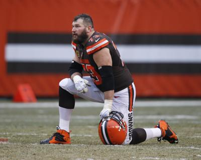 958823610 NFL  Former Wisconsin tackle Joe Thomas not worried about recent memory loss