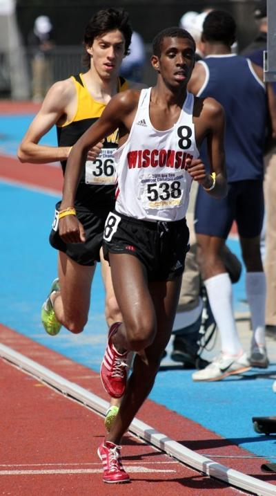 Mohammed Ahmed, UW men's track and field