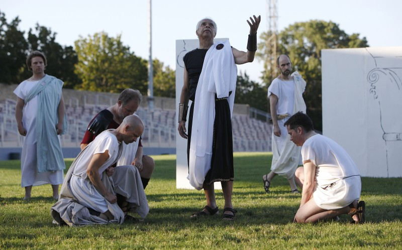 Julius Caesar, Shakespeare at Breese Stevens Field, main