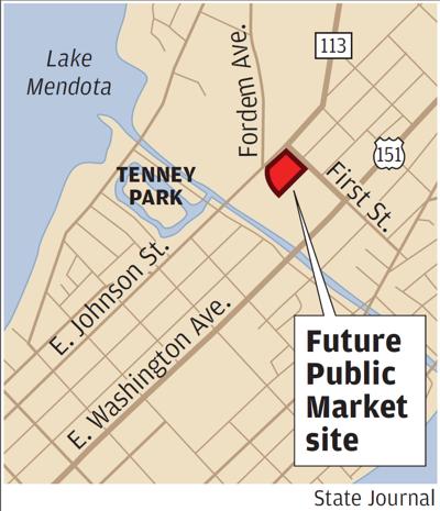 Future Public Market site