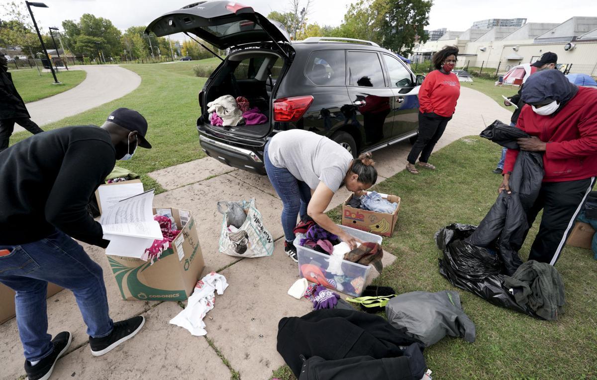 Homeless advocates bringing supplies