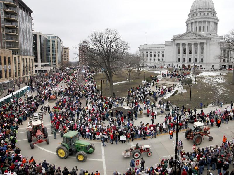 Capitol rally, Tractorcade