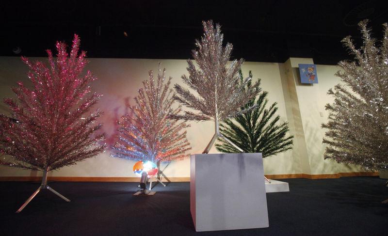 Photos: tis the season for aluminum christmas trees local news