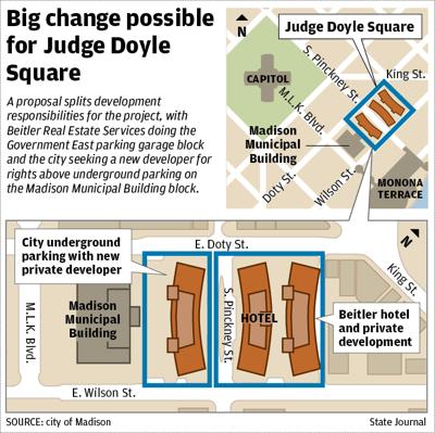 Judge Doyle Square rebidding map