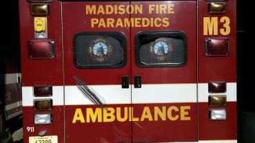 Madison Fire Department ambulance, generic file photo