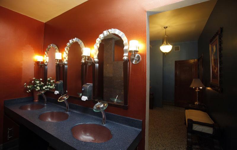 Madison Masonic Center women's restroom and lounge