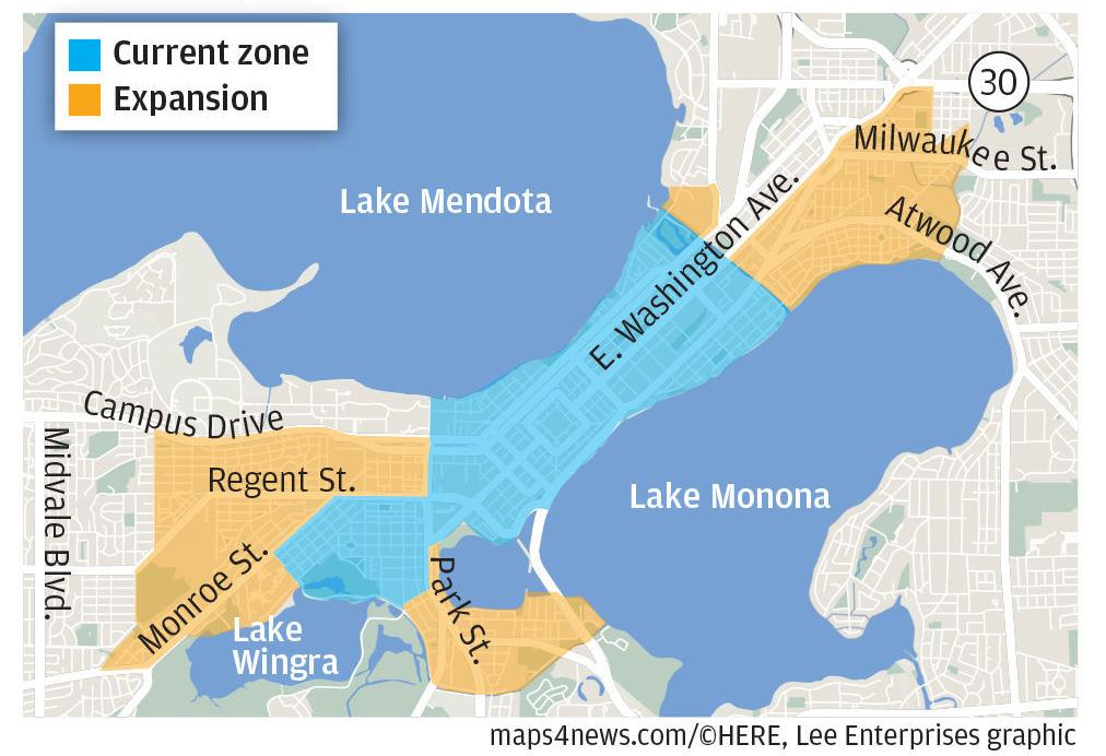 Snow emergency zone expansion