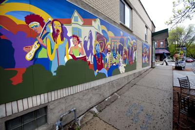 New Mural on Social Justice Center