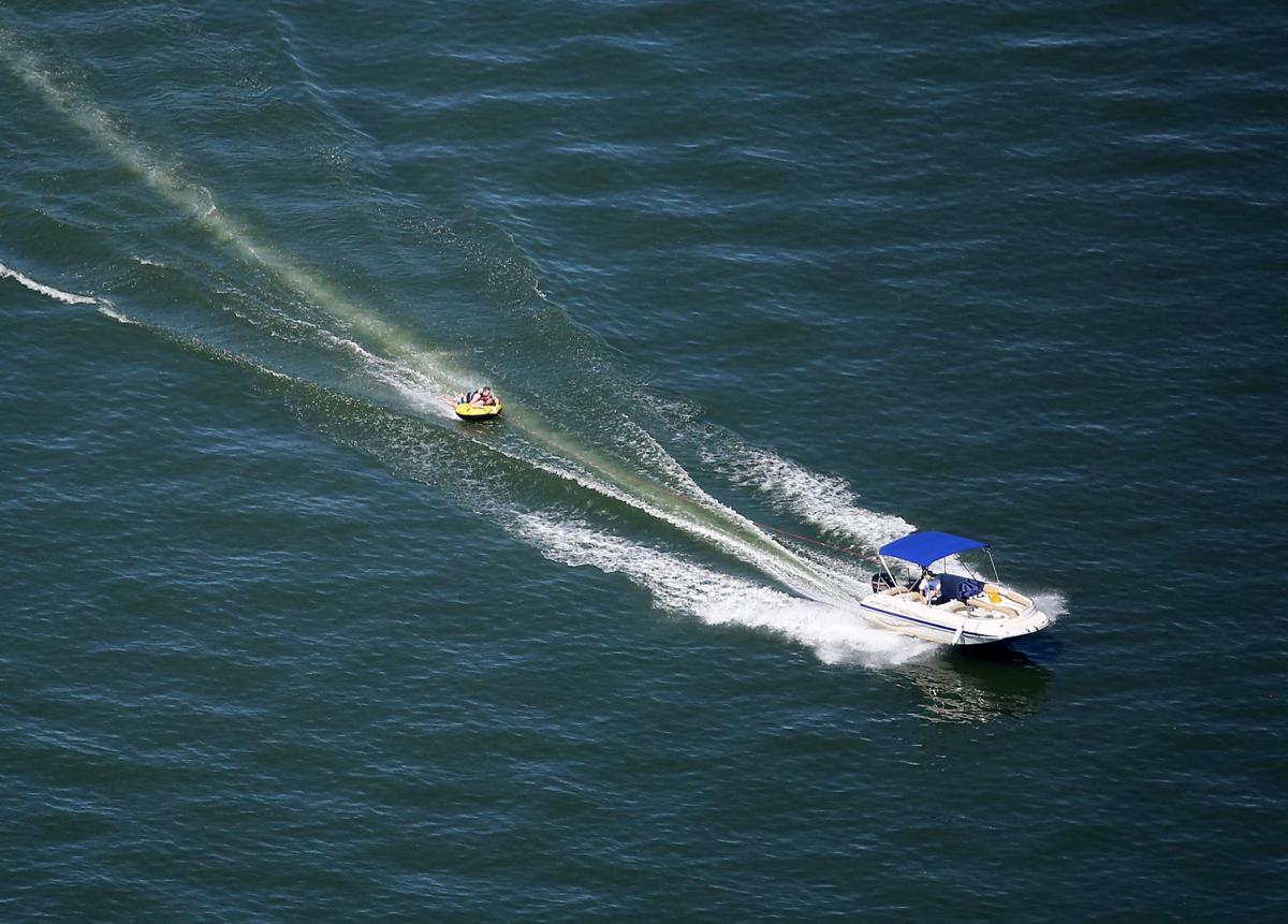 Speedboat aerial