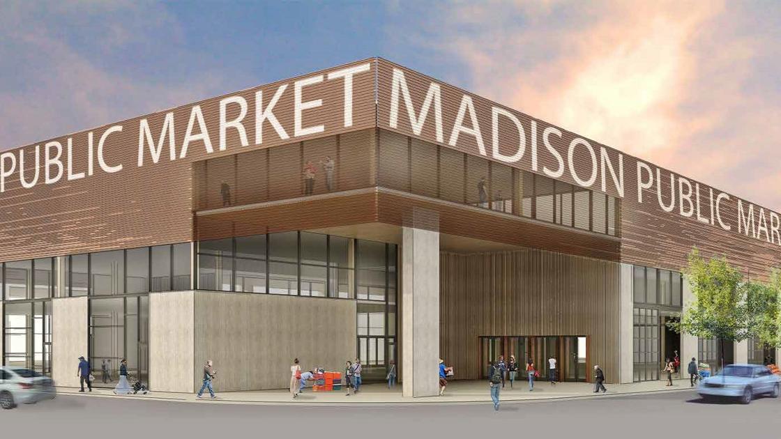 Milwaukee Public Market Does Madison >> City Shares Preliminary Design Site Plan For Madison Public Market