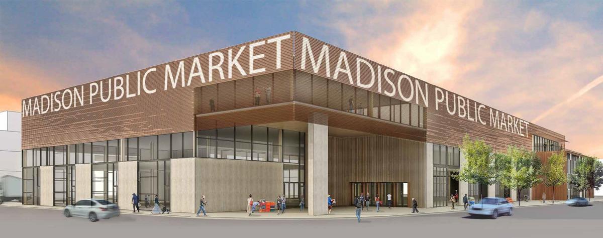 Madison Public Market rendering