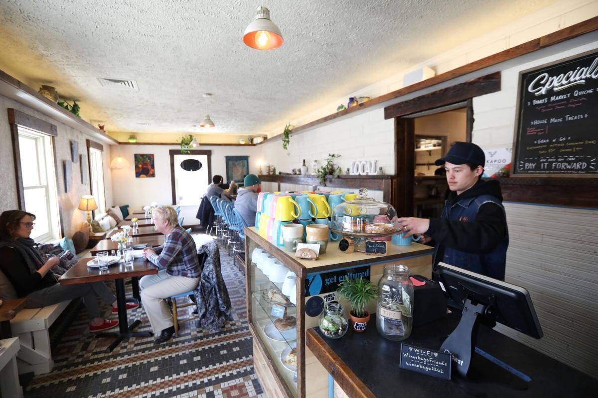 Winnebago Cafe interior