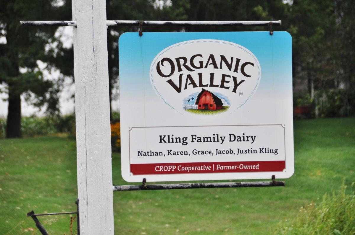Organic Valley Kling sign