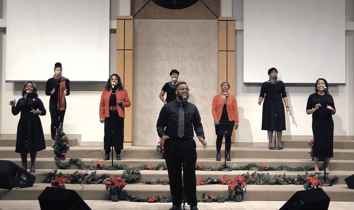Mt. Zion Gospel Ensemble in virtual performance