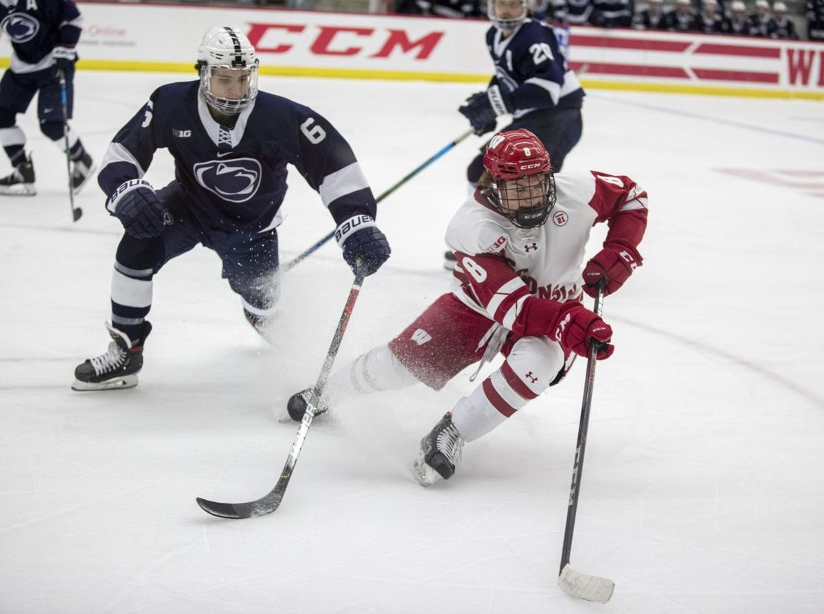 UW hockey photo for cover 11-25