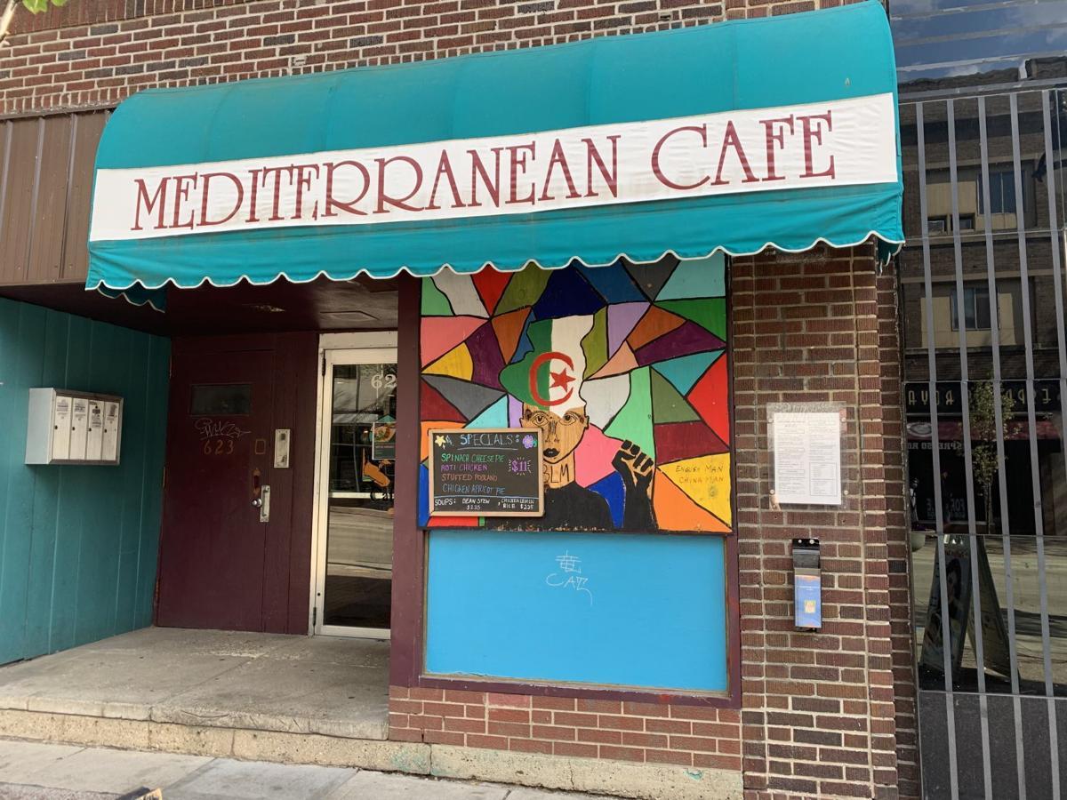 Mediterranean Cafe exterior