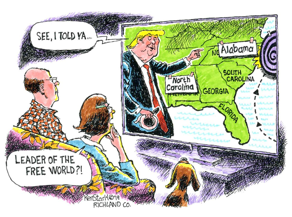 Editorial cartoon 9/15/2019