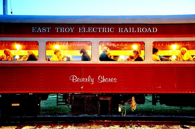 The Dining Car on the East Troy Railroad