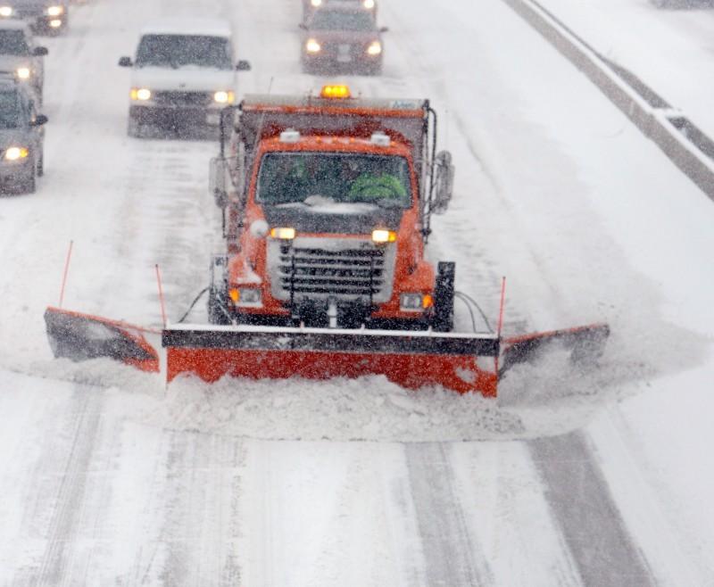 Snow plow on Beltline