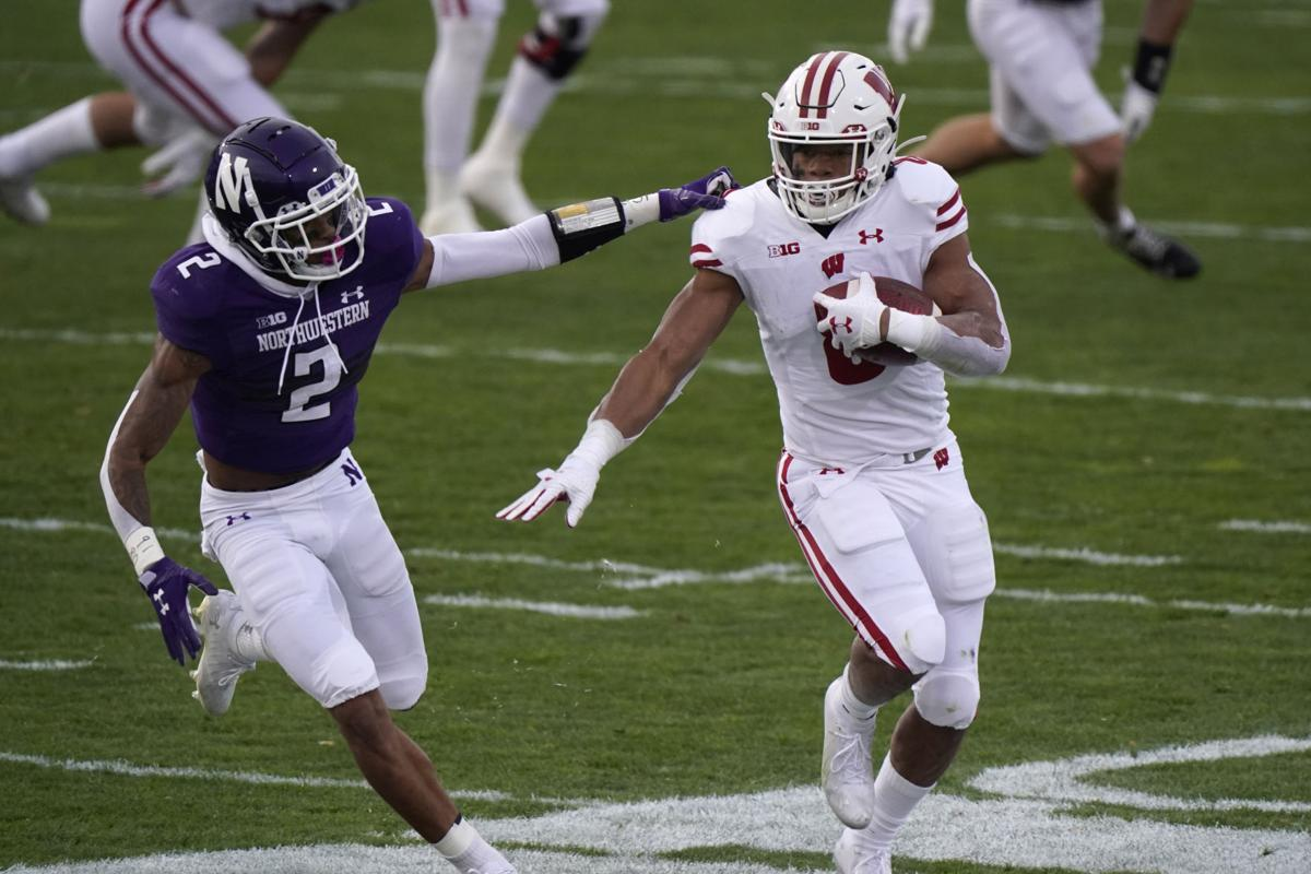 Quiet off the field, Wisconsin Badgers RB Jalen Berger making noise on it   College Football   madison.com