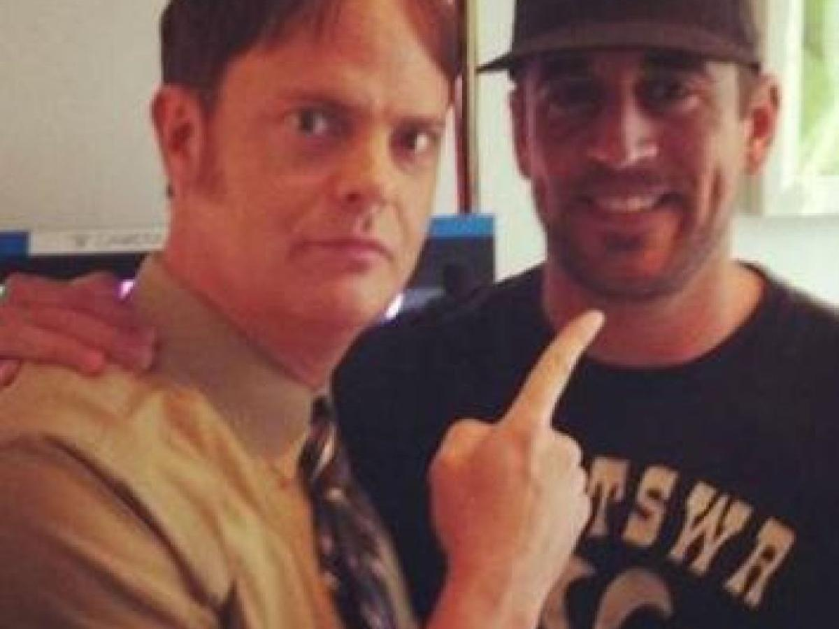 Aaron Rodgers To Be On The Office This Thursday Living In Madison Madison Com