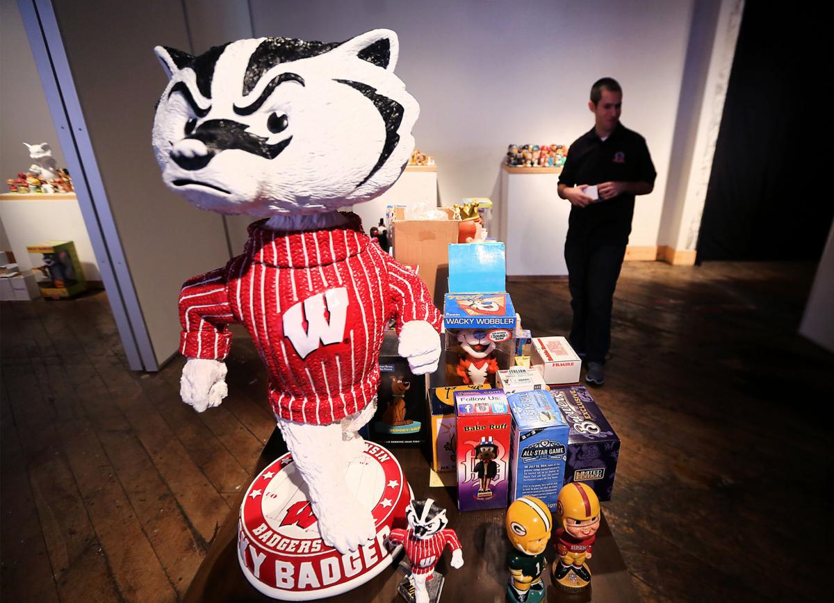 On Wisconsin Sports History Business And Fun With Bobbleheads