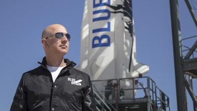 How Amazon CEO Jeff Bezos Is Funding Blue Origin